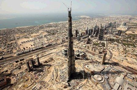 Burj Dubai Babou le grutier