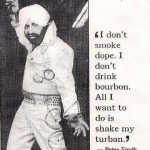 All I want to do is shake my turban