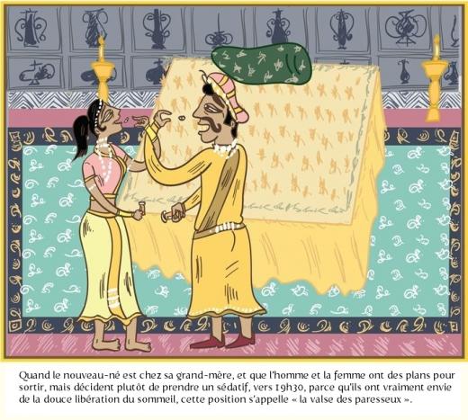 la valse des paresseux 520x467 Le Kama Sutra des gens mariés