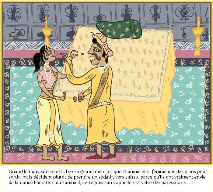 La Valse des Paresseux - le Kama Sutra des gens mariés
