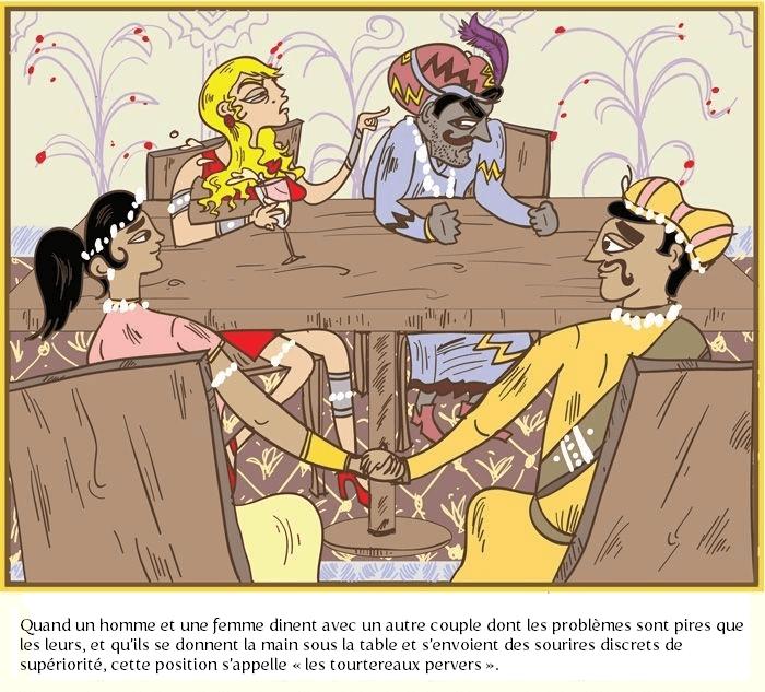 Les tourtereaux pervers - le Kama Sutra des gens mariés